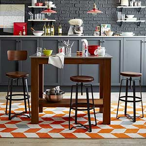 Small Kitchen Islands With a Big Impact