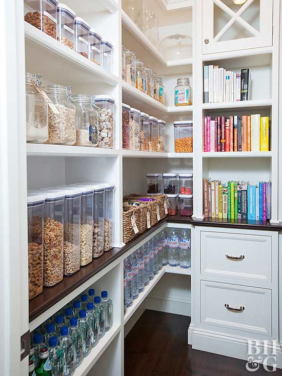 These pantries will make a type a 39 s day Baker group kitchen design