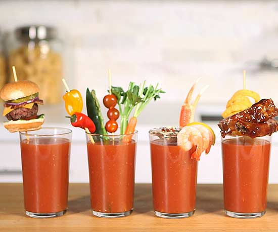 5 Jaw-Dropping Bloody Mary Garnishes