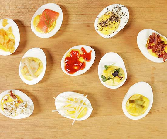 10 Insanely Delicious Deviled Egg Toppers