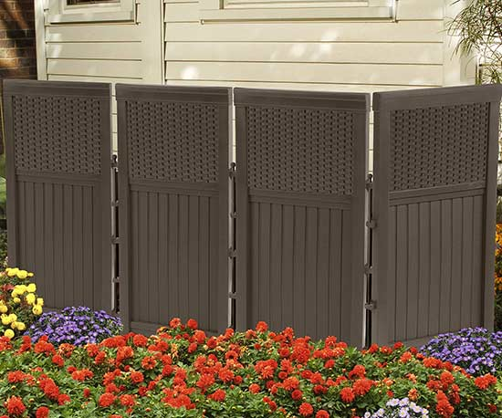 Add Privacy Outdoors with Easy-Up Screens, Curtains & More