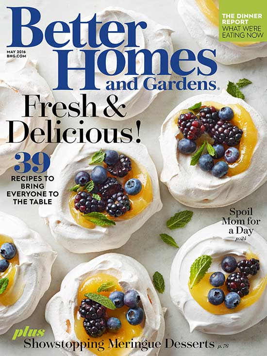 may 2016 - Better Home And Garden