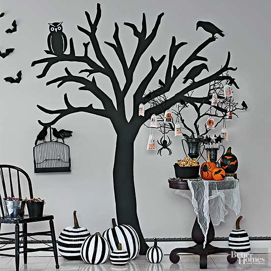 home spooky home easy halloween crafts - Halloween Crafts At Home