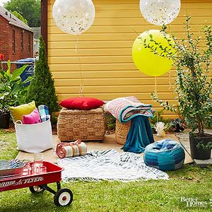Host a Backyard Movie Night