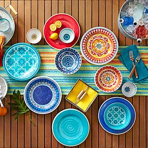Walmart Patterned Patio Accessories