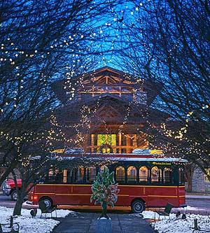 Holiday Getaway to Nebraska City's Lied Lodge