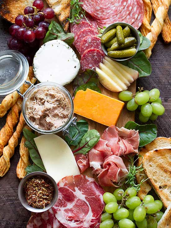 how to create a cheese platter