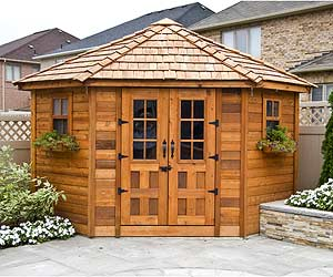 Stylish Garden Sheds That Do It All