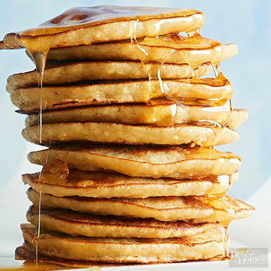 How to make pancakes - Better homes and gardens pancake recipe ...