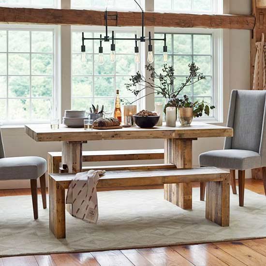 Farmhouse Table Finds Fit For The Whole Family