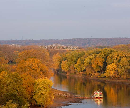 Illinois River Road and Peoria Trip Guide