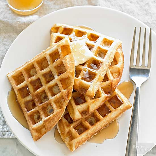 how to make waffles without flour