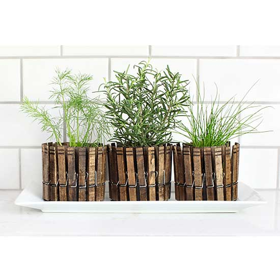 Growing Your Herbs Indoors? Skip The Boring, Plain Planter And Make Your  Own! With This Tutorial From 7th House On The Loft. These Adorable Herb  Planters ...