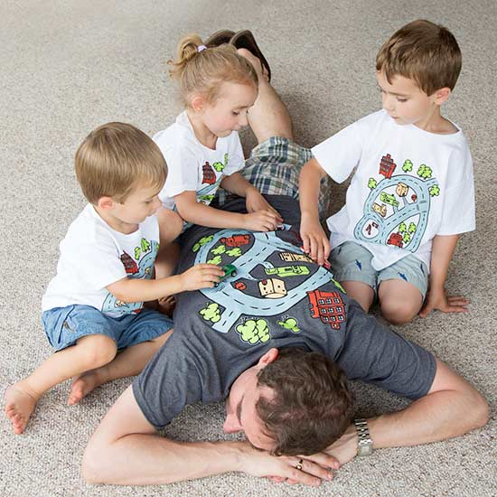 Not Another Tie Best Etsy Shops For Fathers Day - Dad entertains 5 kids