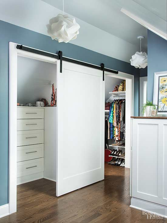 ... With A Finely Furnished Neighbor And Youu0027ve Got An All Inclusive  Wardrobe Warehouse. These Space Smart Homeowners Outfitted A Secondary Shallow  Closet ...