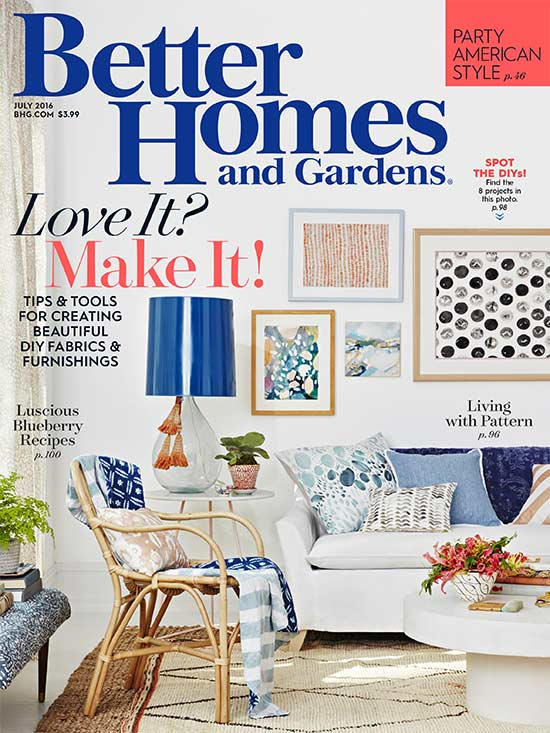 july 2016 - Better Home And Garden