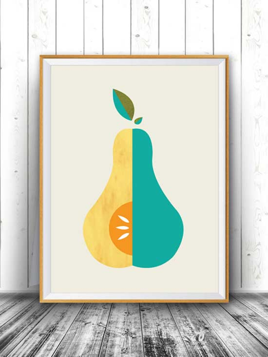 12 Pretty Produce Picks To Freshen Up Your Walls