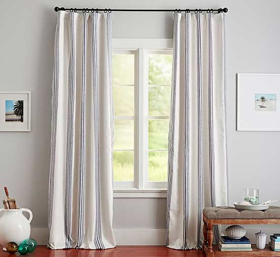 curtains are a must for dressing windows they provide privacy usher in sunlight and contribute texture and color learn how to hang curtains in every - Hanging Drapery