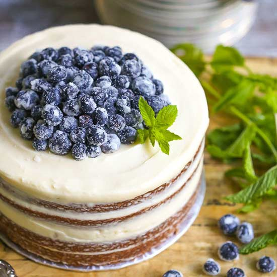 10 Surprisingly Simple Naked Cakes, Perfect for Summer Entertaining
