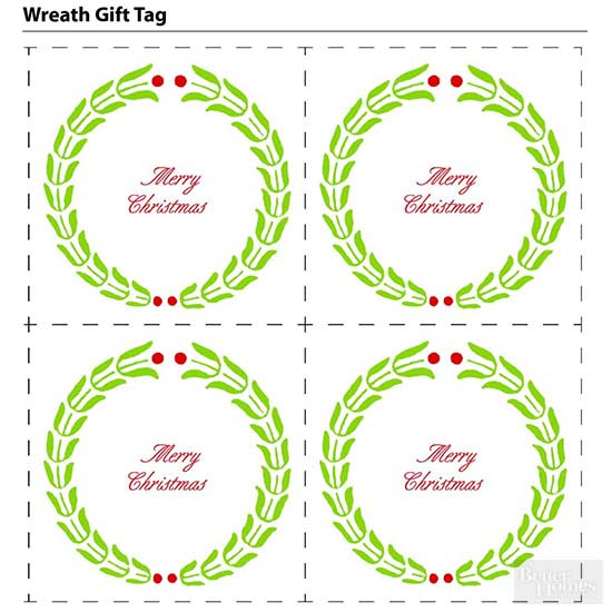 Exclusive Gift Tags from Better Homes and Gardens