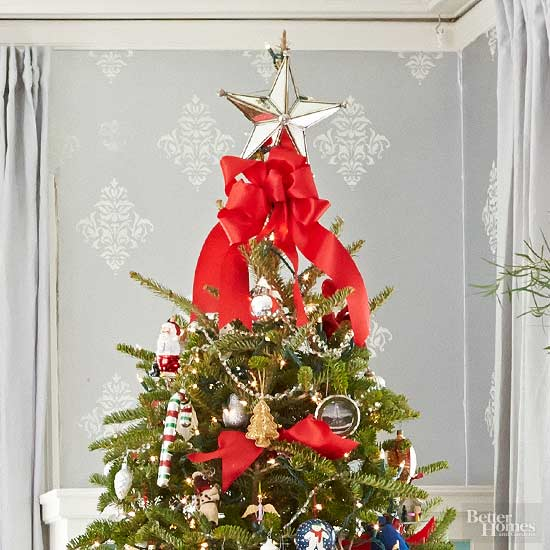 Christmas Tree Toppers - Make A Christmas Star Tree Topper