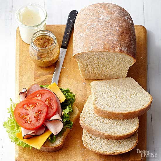 how to make bread with bread machine