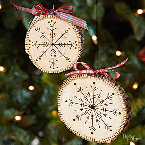beautiful handmade christmas ornaments - Ideas For Christmas Trees Decorated