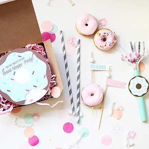 Throw a Doughnut Party (Sprinkles Included!)