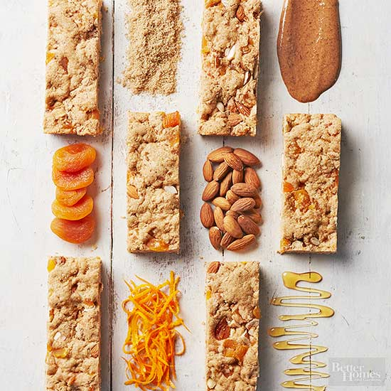 Orange-Almond Breakfast Bars