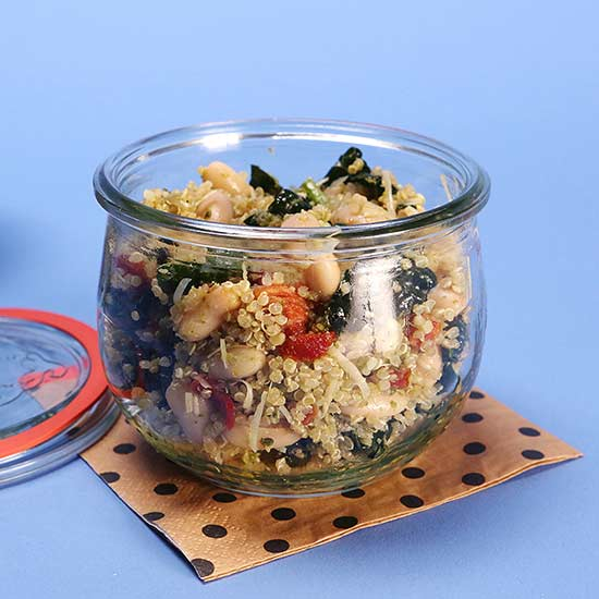 Lunch Time Quinoa Salad