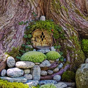 12 Fabulous Fairy Gardens, Minus The Creepy Fairy Figurines Part 37