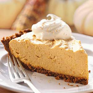 Pumpkin chiffon pie Bhg recipes may 2016
