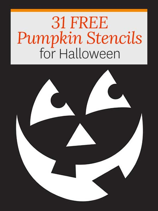 Free pumpkin stencils for halloween pronofoot35fo Images
