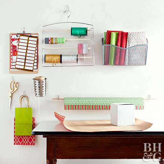 Attractive Seasonal Wrapping Station