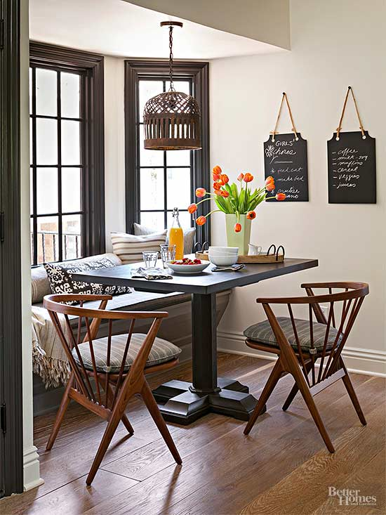 Use Contrast to Call Attention  Dark finishes. Color and Wood Tone  Choose Colors That Go Together