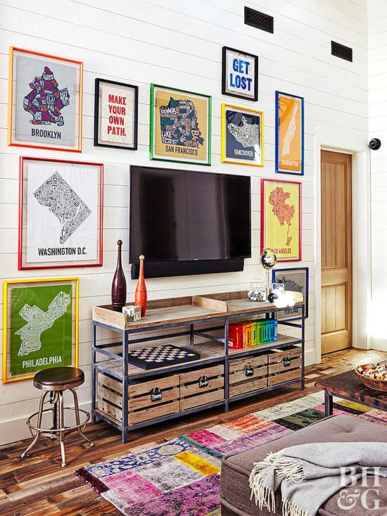 furniture for small spaces. whenever possible tuck furniture around the perimeter of room to avoid taking up precious floor space attach bookshelves wall build a bench for small spaces t