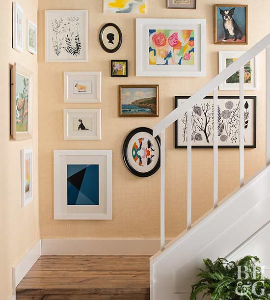 Home Hallway Decorating Ideas Part - 39: Hallways Physically Connect Spaces. Complete The Connection With A Visual  Tie Between Spaces Through The Buffer Of A Hallway. Decorate The Hallway  With A ...