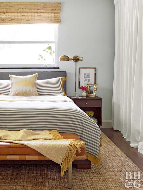 it might be tempting to buy the biggest bed possible to feather a luxurious nest but doing this in a small space tends to cause a more cramped feel - How To Decorate A Small Bedroom