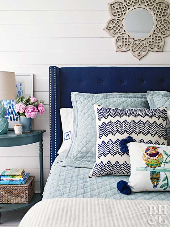 when decorating a small bedroom go for furniture with rounded edges it will take up less floor space and help widen walkways half circle nightstands and - Help Decorating Bedroom