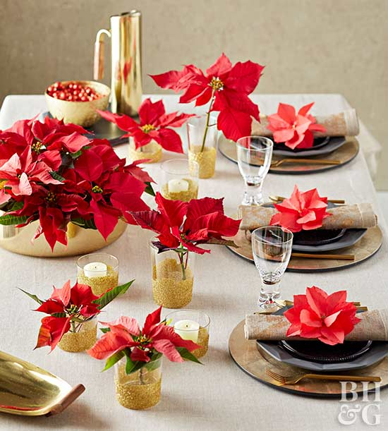 Fabulous ideas for christmas tables - Christmas table setting ideas ...