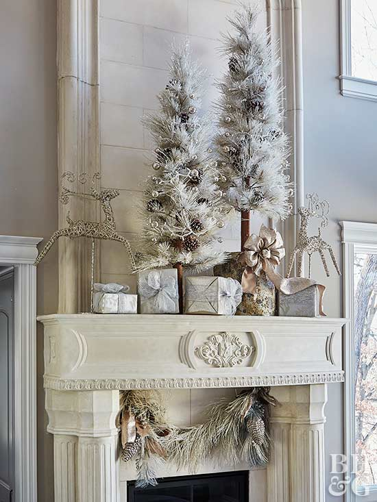 Ivory House Christmas Decorations