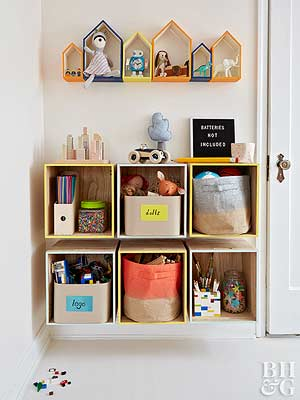 DIY Kidsu0027 Rooms Storage Projects