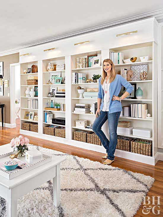 Build This Diy Library Wall For Less Than 600