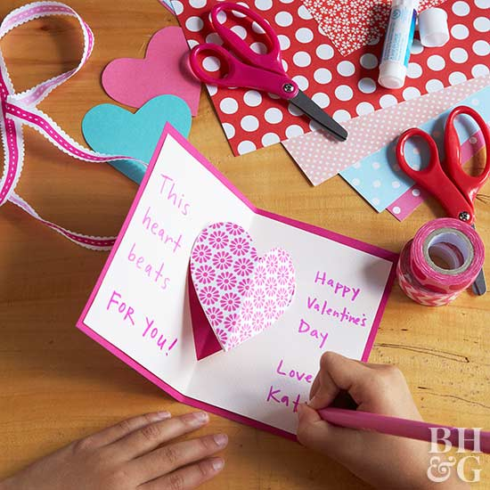 HearttoHeart CardMaking Party for Valentines Day