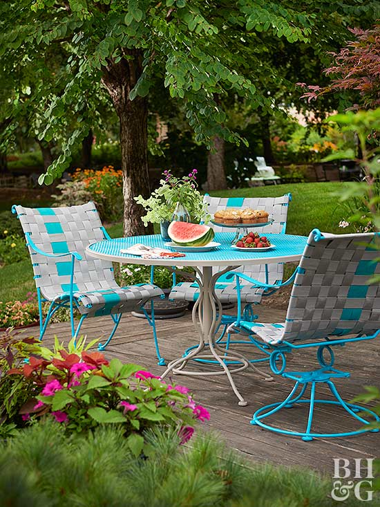 Before And After Outdoor Furniture Makeovers