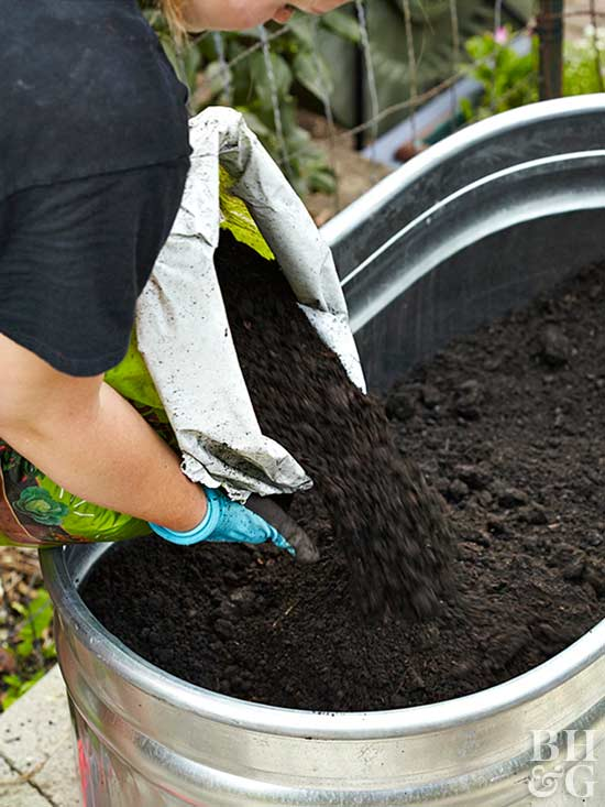 While Your Vegetables Arenu0027t Fussy About The Kind Of Pot Theyu0027re In, They  Do Care About The Potting Soil In Your Vegetable Container Garden.