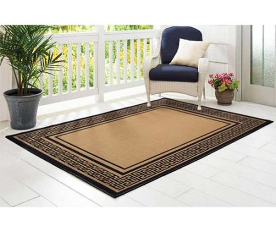 We Love The Greek Key Rug, A Great Addition For Inside Or Outside Your  Home. A Covered Area Will Extend The Life Of The Rug If You Choose To Place  It ...