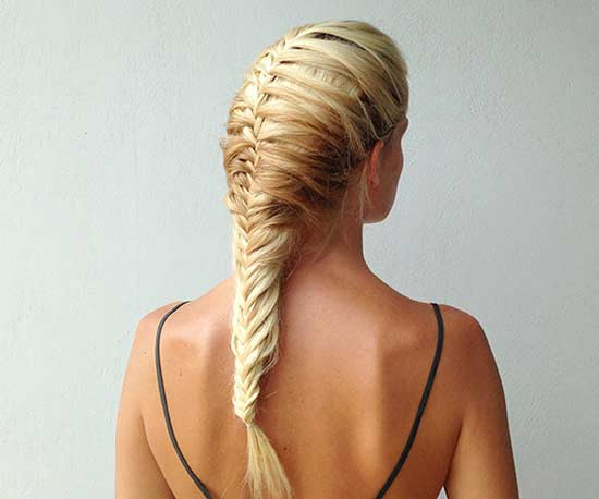 How To Fishtail Braid Diagram Catch Of The Day Fishtail Mermaid Braid
