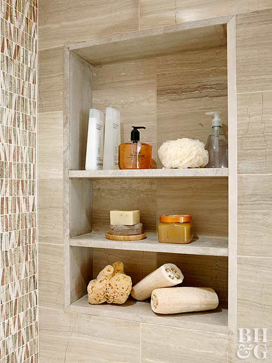 how to build a recessed wall shelf. Black Bedroom Furniture Sets. Home Design Ideas
