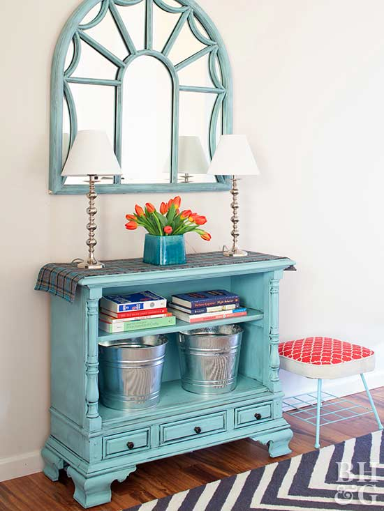 entryway with dresser our most organized foyer console tables